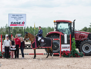 Under 25 Series makes debut at Caledon Equestrian Park, Swail keeps hot streak going!