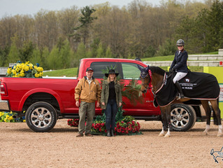 Beth Underhill and Count Me In dominate at Caledon National CSI2*