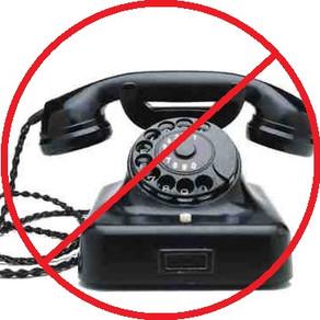 ZRUŠENÍ PEVNÉ TELEFONNÍ LINKY