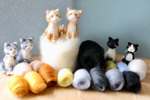 Cat Felting Pack