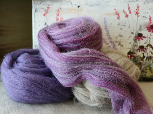 """""""French Lavender"""" Spinning Wool"""