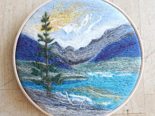Mountain Wool Painting Kit