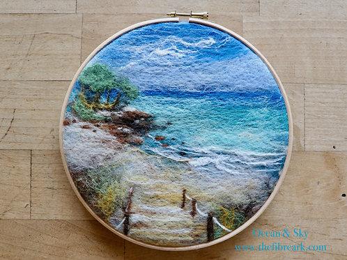 Ocean Wool Painting Kit