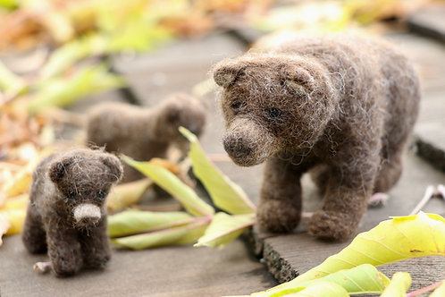 Grizzly Bear & Cubs Kit