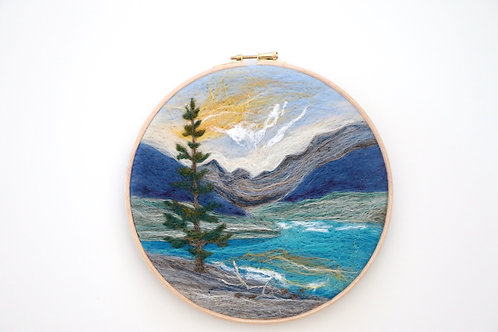 Mountain Wool Painting Kit