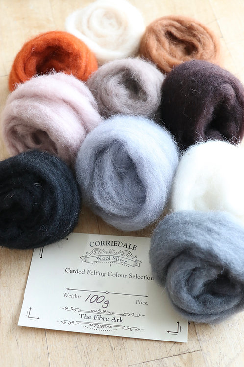 Woodland Corriedale Felting Wool