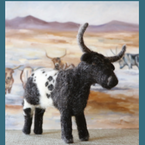 Longhorn Cow (makes 1)