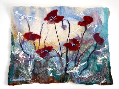 Poppy Wet Felted Painting Kit