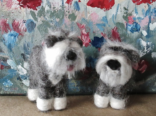 Mini Schnauzer Kit (makes 2)