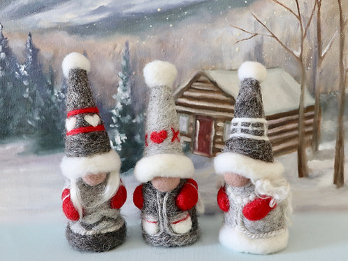 Christmas Gnomes (makes 4)