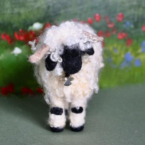 Valais Blacknose Sheep Felting Kit