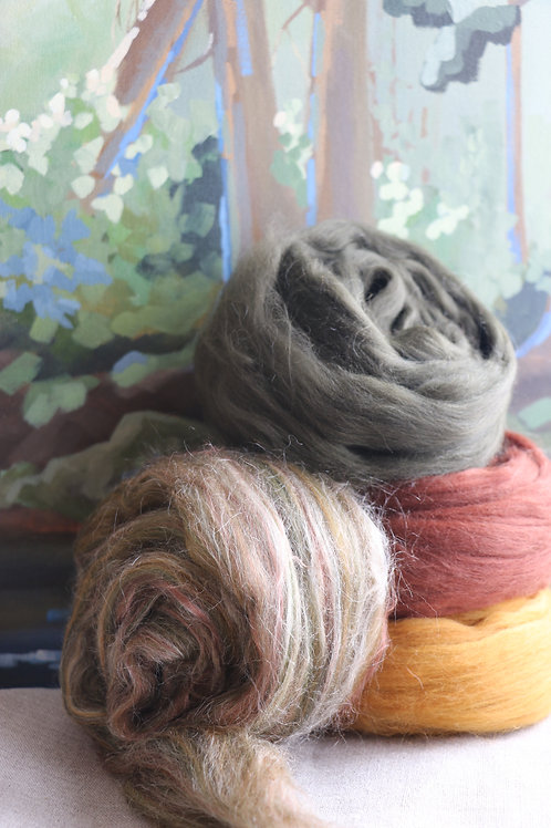 """Pacific Coast Cedars"" Spinning Fibre"