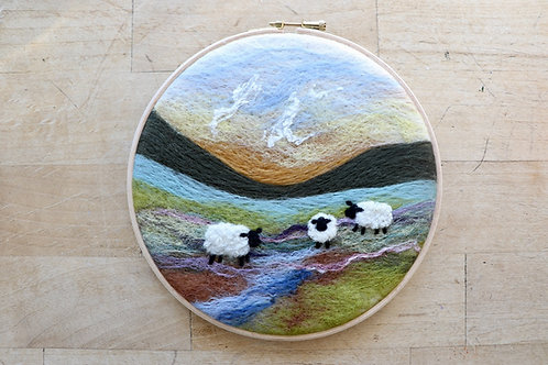 Sheep Wool Painting Kit