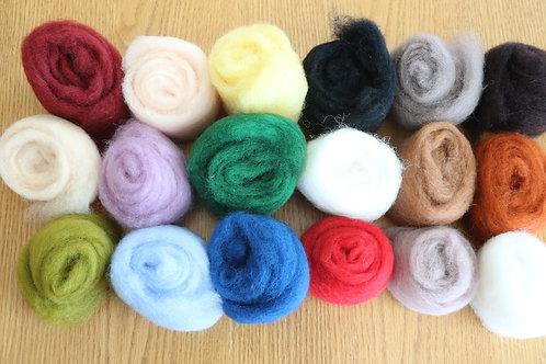 Corriedale Felting Wool - Value Pack