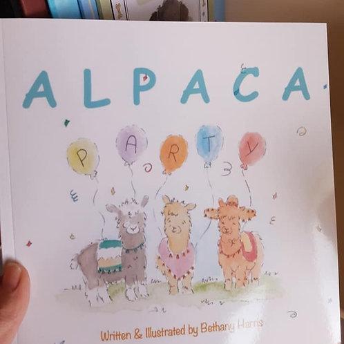 Alpaca Party Children's Book