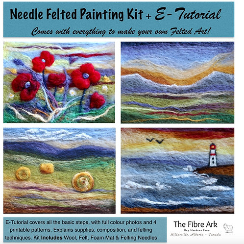 Felted Painting Kit (makes 4)