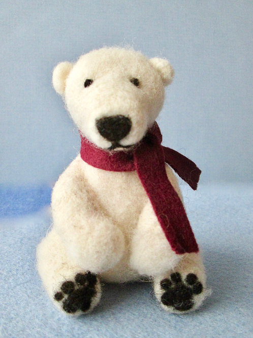 Hudson the Polar Bear Kit (makes1)