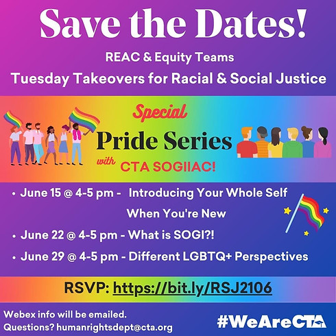 Tuesday Takeovers for Racial and Social Justice!