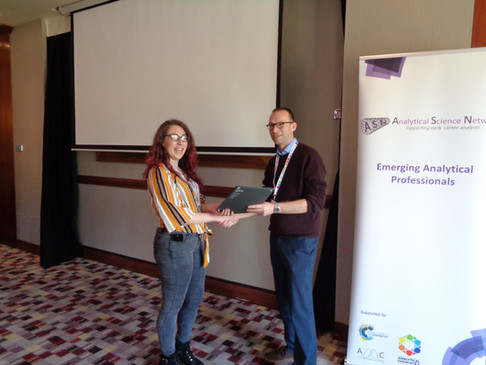 EAP 2019 Poster Pitch Prize WInner