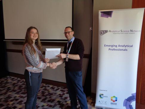 EAP 2019 Talk Prize Winner