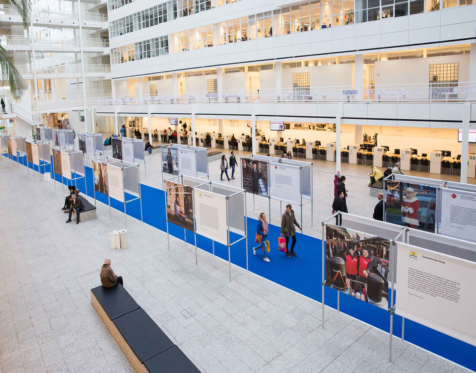 All portraits were exhibited at City Hall in 2016.