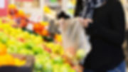 Grocery-fruits-shopping-with-plastic-bag