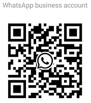 Tap your WhatsApp camera icon to Scan this code to start a WhatsApp chat with Expat in Belgium