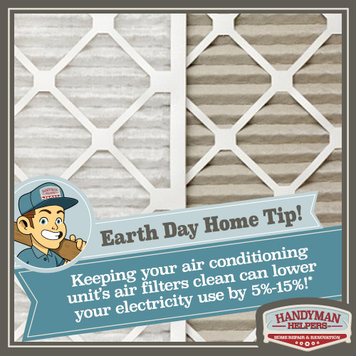 Earth Day Home Tip