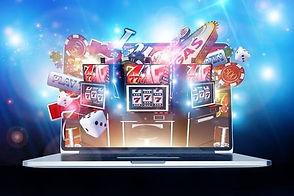 69194279-온라인-카지노-도박-개념-3d-렌더링-그림입니다-인터넷에