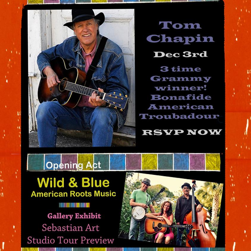 Tom Chapin              w/ opener Wild & Blue