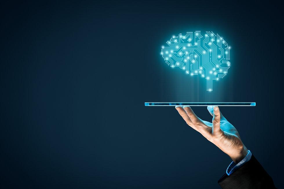 Artificial intelligence (AI), machine de