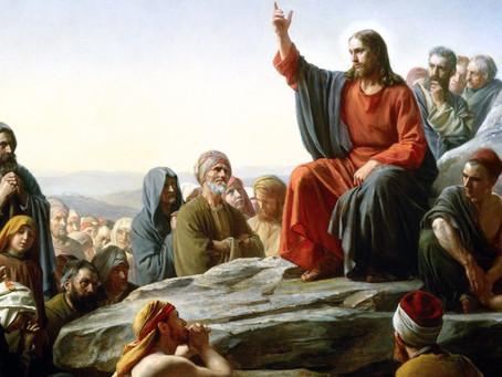 Beginning the Sermon on the Mount