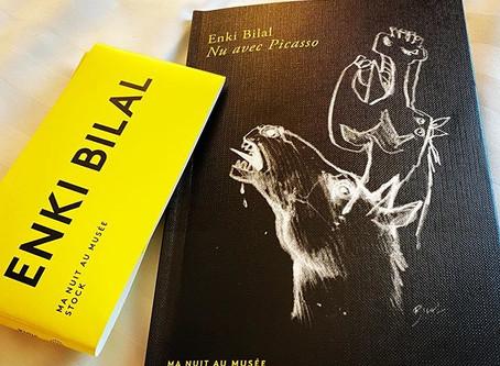 "Enki Bilal, ""Nu avec Picasso"""