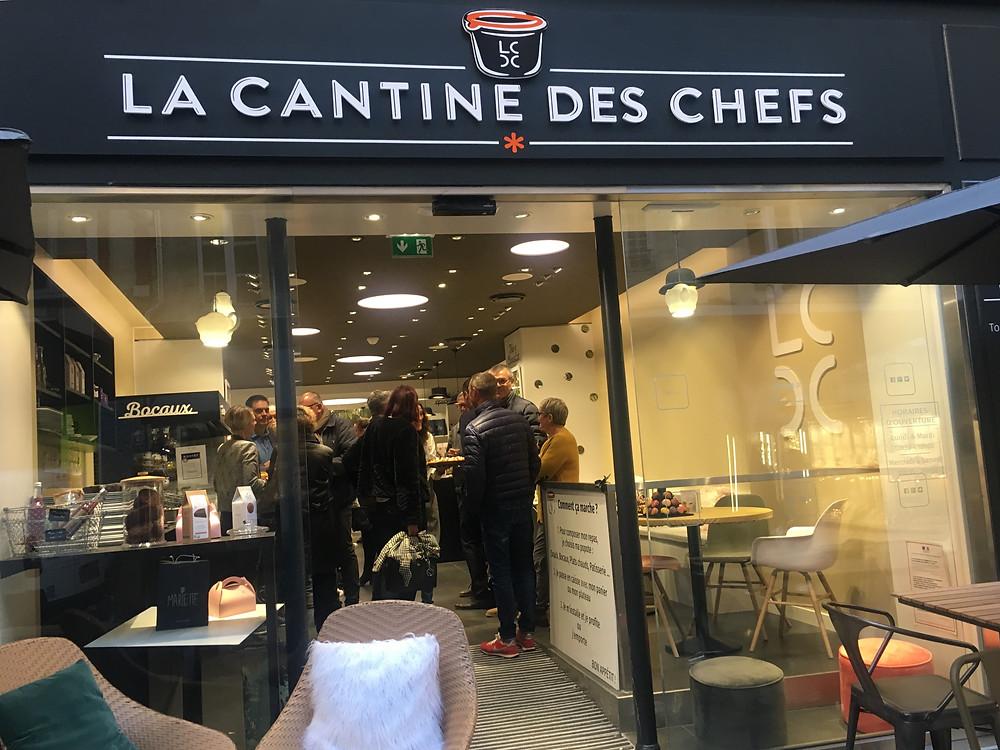 La nouvelle boutique de La Cantine des CHefs à Quimper