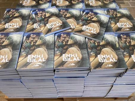 Le catalogue Enki Bilal : première collaboration avec le Fonds Hélène & Édouard Leclerc