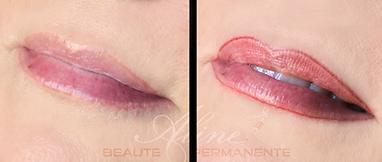 Dermopigmentation Maquillage permanent Contour Bouche