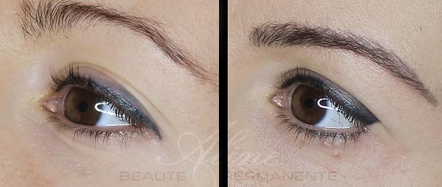 Dermopigmentation Maquillage Permanent Correction Yeux Eye-Liner