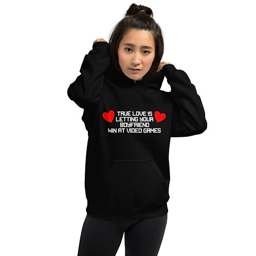 Letting Your Boyfriend Win at Video Games Unisex Hoodie