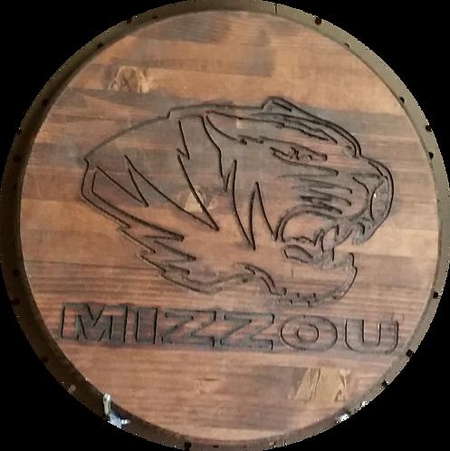"Mizzou Tigers ""2"" - Wall Hanger"