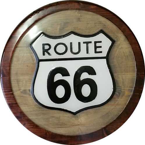 Route 66 - Wall Hanger