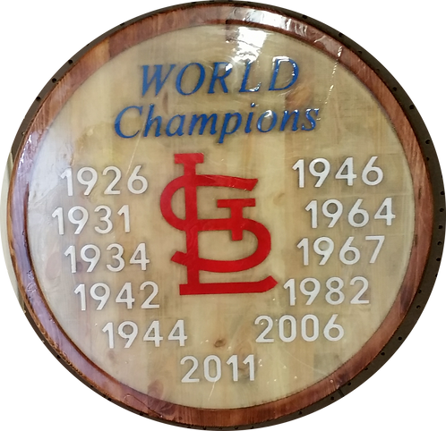 "St. Louis Cardinals ""World Champions"" - Wall Hanger"
