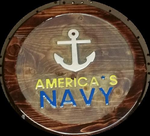 America's Navy - Wall Hanger