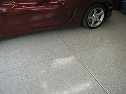 Epoxy Sand Quartz - Garage 88