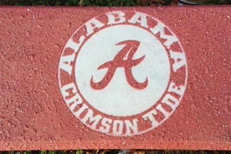 Alabama 1 - Bench Large Logo
