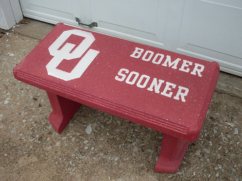 Sooners - Bench Large Logo