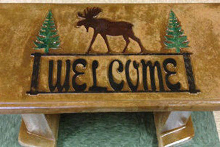 Moose Welcome Bench
