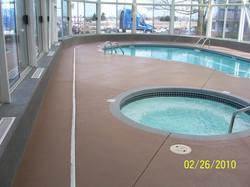 Pool Deck Sprayed Crete