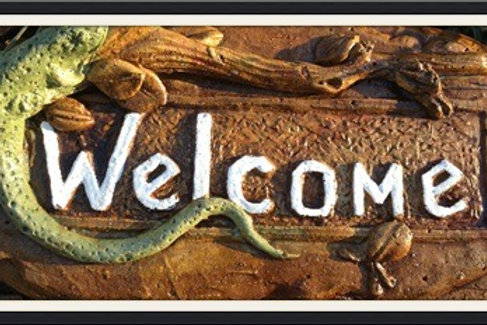 "Gecko ""Welcome"""