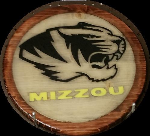 "Mizzou Tigers ""1"" - Wall Hanger"