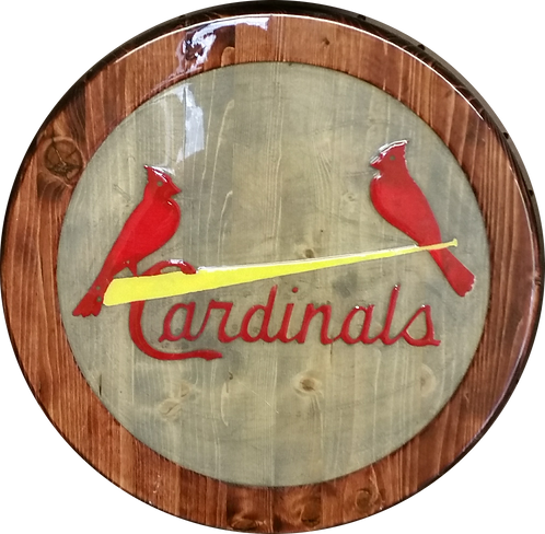 2 Birds on a Bat (STL) - Wall Hanger